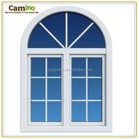 sliding balcony glass curtain window