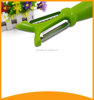 2016 cutlery kitchenware double side plastic potato peeler and vegetable and fruit slicer