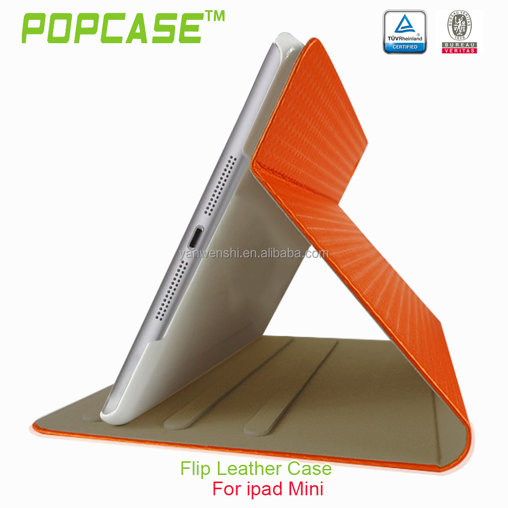 2014 fashion style pu case for ipad mini 2