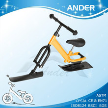 BSCI top sale kids snow scooter/ ski toy bike