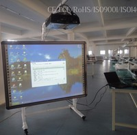 82 inches wireless interactive whiteboard white smart board with ce, iso, fcc, rohs