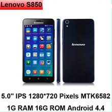 Original 5inch Camera 13.0MP GPS 3G Smartphone 3G WDMA Dual Sim Card Dual Standby Mobile Phone Lenovo S850
