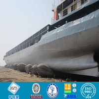 High pressure marine rubber airbag for ship launching