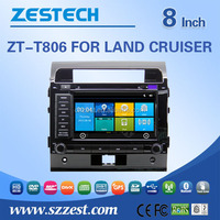Factory price car parts For TOYOTA LAND CRUISER touch screen 2 din auto car audio radio player