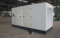 Fuel tank type AC 3 phase brushless open industrial diesel generator set international standard