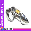 padlock male chastity toy, Penis cage with ring, Top Sale metal dick cage