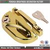 Zinc die casting cam sash window lock/sliding crescent lock