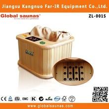 2015 caliente venta del infrarrojo lejano sauna cápsula para el pie y pierna spa ZL-001S