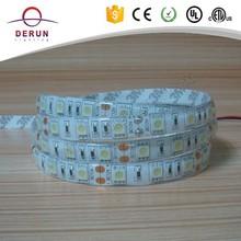 10mm width IP65 5050 waterproof led strip white