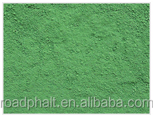 Golden supplier offer colored Green pigment for brick asphalt/concrete coloring