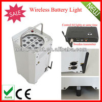 Battery Powered Wireless DMX LED Lights