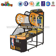 Professional the gun basketball shooting machine decorative frame basketball made in China