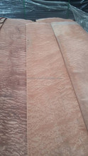 TOP Sales Natural Sapele Pomelle Veneer For High Class Hotel project