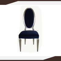 Danxueya- round cane back fabric side chair,classic Louis XV dining chair/French style louis chair