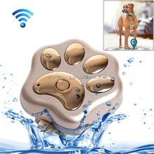 Waterproof IP66 Anti-lost WiFi GSM Smart GPS Tracker for Pet(Gold)