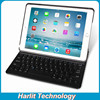 r Folio Bluetooth Keyboard Case for iPad Air with Dual Angles Viewing Modes and Auto Sleep / Wake Keyboard Black Color