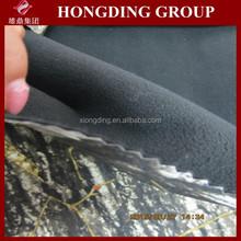 two layer bonded pongee fabric/fleece bonded spandex pongee/pongee fabric bonded with fleece