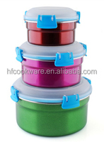 wholesale round shape wedding favor gift boxes stainless steel tin sealed cans for food canning