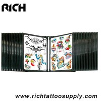 Top-quality 28 panes tattoo wall flash rack,High Quality Tattoo Wall Flash Rack Display