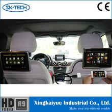 Digital Touch screen TFT HD car headrest 9 inch hdmi monitor
