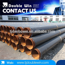 Black 3pe Coated Oil Steel Pipe 6/gas Steel Tube 6 made in China