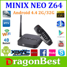 Minix Neo Z64 Intel Z3735F Android TV Box - Use Android 4.4 operating system