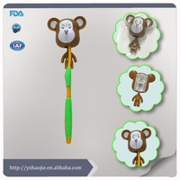 New Design Plastic Toothbrush Cap/Toothbrush Cover With Wall Plastic Animal Head