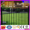 PVC Coated Picket Residential Steel Fence