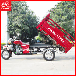 China Popular Cargo Tricycle Motor Model 200CC Agriculture Trailer Mini Cargo Truck