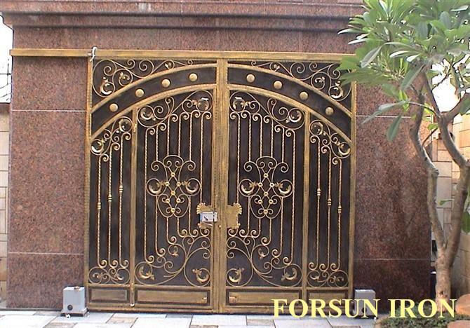 aluminum house gate designs wrought iron gate models
