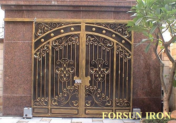 House Gate Designs Wrought Iron Gate Models Forged Iron Main Gate