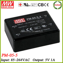 Meanwell 5v 1a tattoo power supply PM-05-5