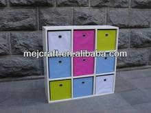 Economical functional nine color drawers children bedroom furniture