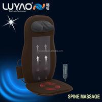 Vibration heat massage mattress , thermo shiatsu massage cushion LY-803A-2
