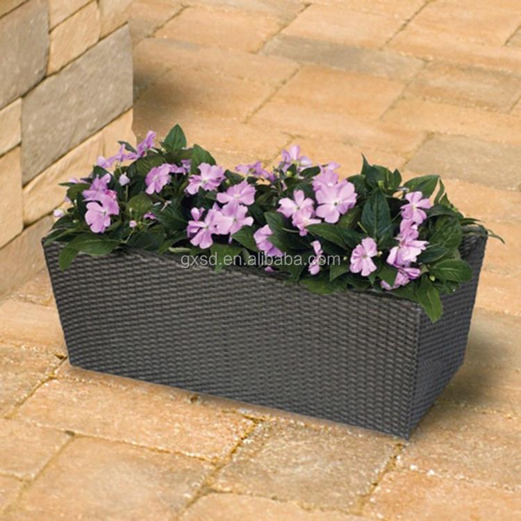 S&D balcony plastic rectangular long garden flower pots,flower pot stand (9).jpg