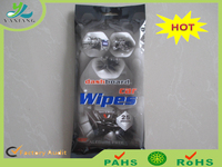 Car wipes for quick and easy clean dashboard and leather