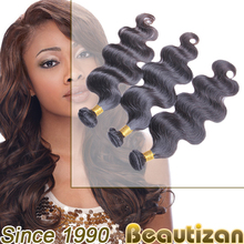 Beautizan unprocessed high quality virgin human hair - 100% virgin healthy human hair weave