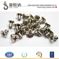 Profesional de la producción de acero inoxidable/de acero al carbono tornillo de los técnicos shorting fabricante