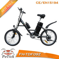 """20"""" steel frame cheap city lady electric bike/ electric bicycle with ce/en15194"""