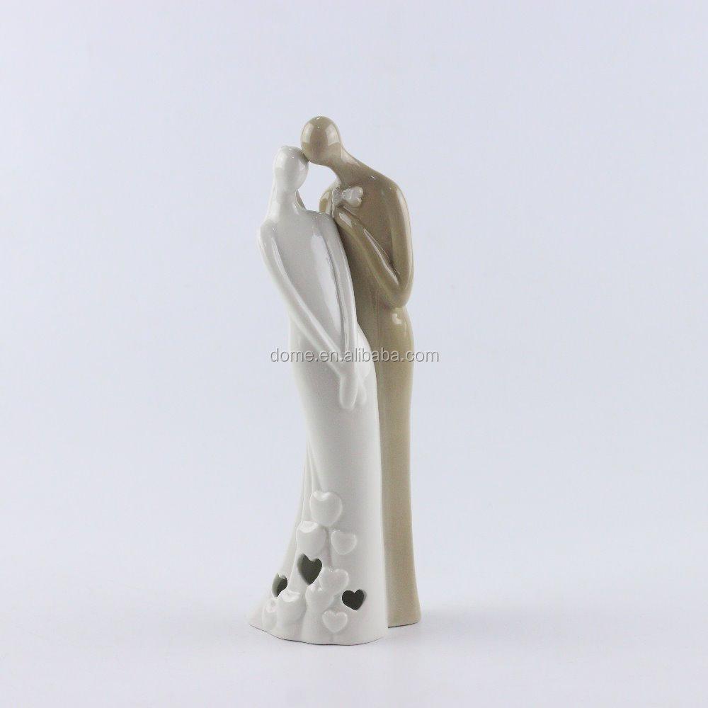 Amor presentes de casamento casal estátuas figurinhas noiva e do noivo