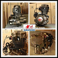 1 Cylinder Water/Air Cooled Lifan 200cc Gasoline Engine For Tricycle