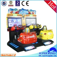 "42""LCD arcade racing machine coin operated amusement game for sale"
