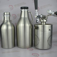 CRAFT BEER INSULATED CANTEEN WITH LOGO