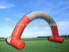 A decoração de publicidade inflável do arco, comercial inflável arcos, publicidade arcos infláveis
