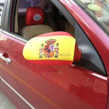 2016 EURO CUP Custom logo national flag Spain car mirror cover