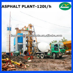120t/h New Designed asphalt mixing plant