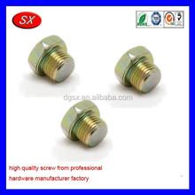 custom Heater Water Outlet Plug male thread Screw Plug