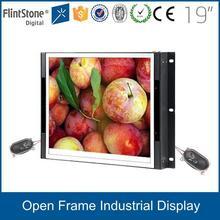 FlintStone 19 inch aluminum casing tft cctv lcd display hd 1080p monitor with AV input