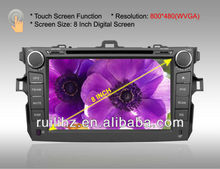 8 inch Touch Screen Android Auto Radio Car DVD with 3G/Wifi ISO 2 DIN Size