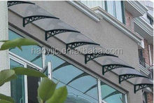 Guangzhou best polycarbonate price 100% bayer material UV coated lexan polycarbonate awning sheet